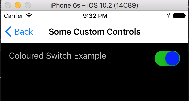 Xamarin Forms - Change a Switch's True/False Colour – wislon io