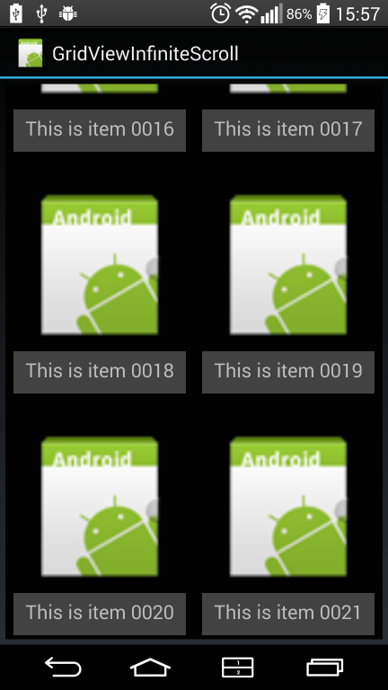 Xamarin Android - Build a Gridview With Infinite Scrolling